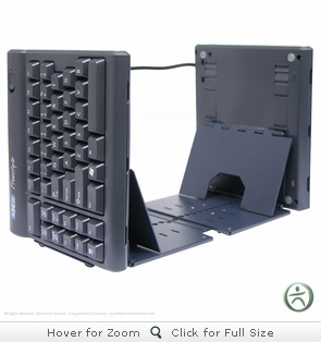 isn't this the oddest keyboard ever?  Ascent Multi-Tent Accessory for the Kinesis Freestyle keyboard