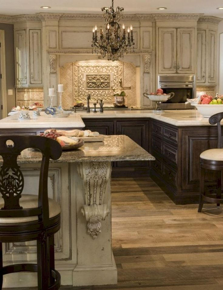 Best 57 Best French Country Kitchens Images On Pinterest 400 x 300