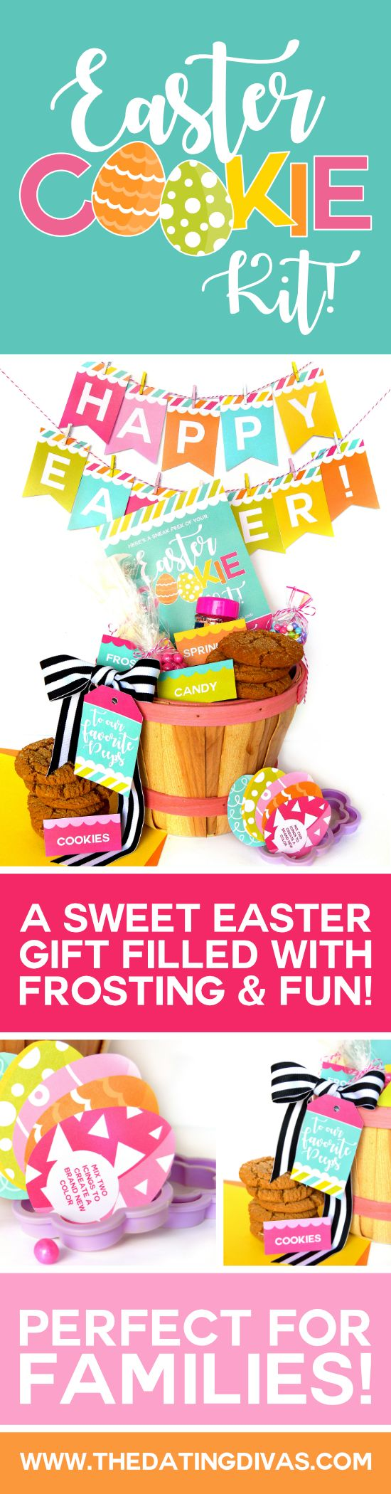The one stop diy shop 13176 pinterest diy easter basket family gift idea from negle Image collections
