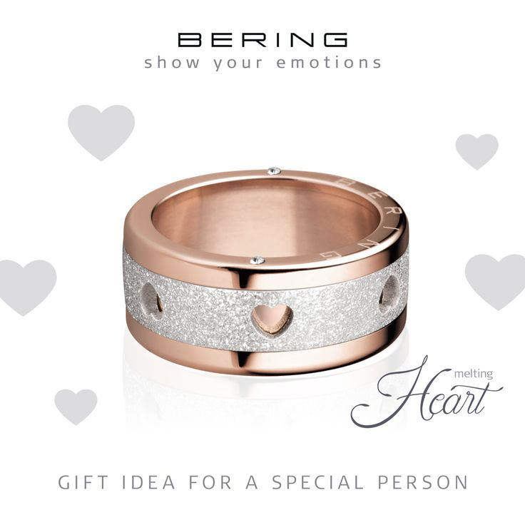 Show your emotions; Rings; Gift idea; Individual Rings; Arctic Symphony Collection; BERING