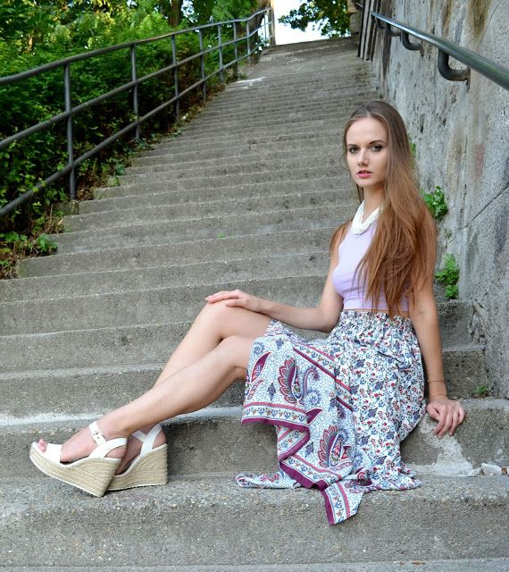 Signorina Anita: Moroccan skirt