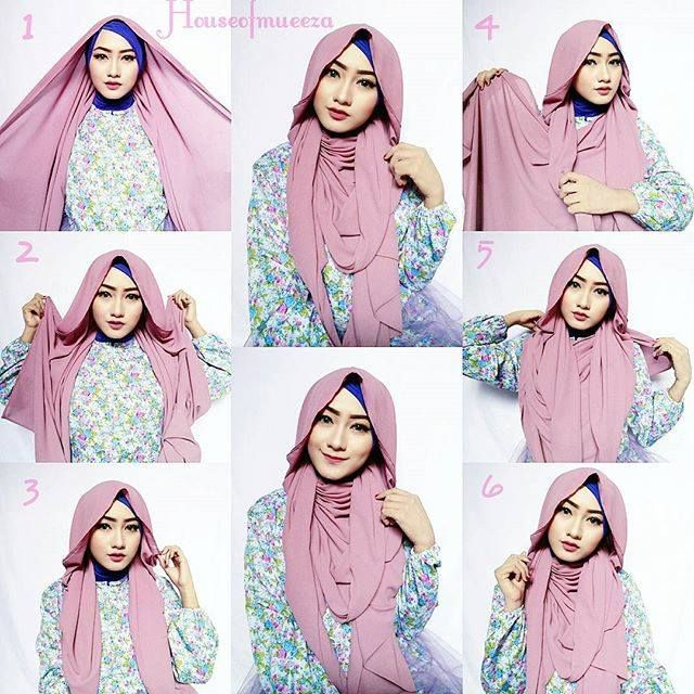 Gorgeous Hana Tajima Inspired Hijab Tutorial