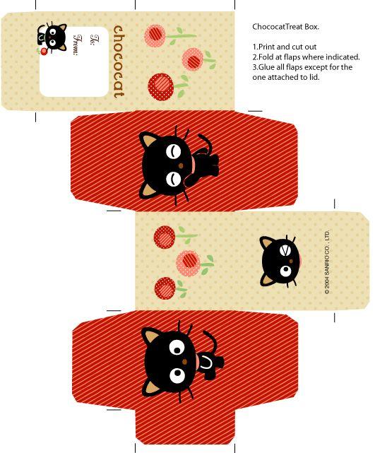 FREE printable chococat box