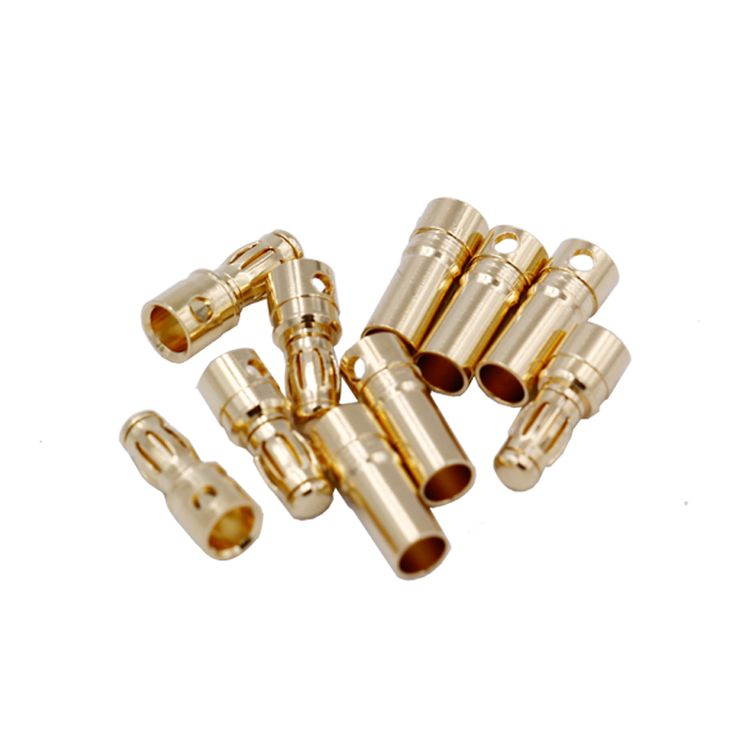 20pair/lot   RC Battery 3.5mm Gold Bullet Banana Connector Plug #Affiliate