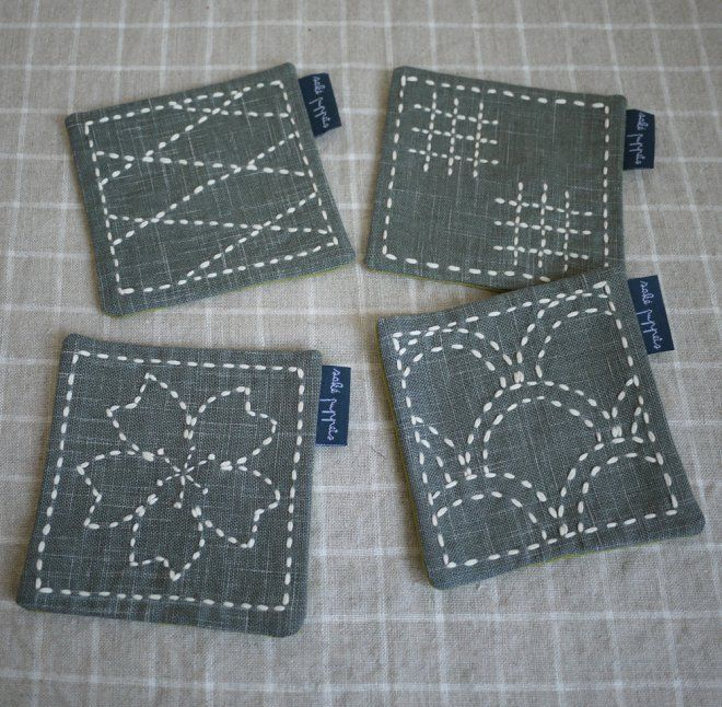"Sashiko Tutorial - Sashiko 刺し子 is a Japanese style of needlework. Literally meaning ""little stabs,"" sashiko was originally used to strengthen ..."