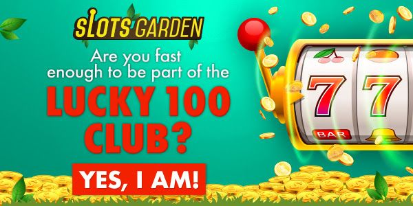 400 No Max At Slots Garden Casino Bonus Best Casino Online