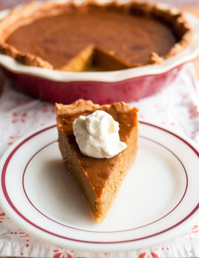 I thought I knew pumpkin pie — I mean, you can't really beat the classic — and then Ruth Reichl comes along and drops this bombshell on me, and now I feel like I've been lying to myself about the gloriousness of my pies for years. I would be disheartened if I weren't so dang excited to bake more pie this Thanksgiving. Enough teasing — here's what Ruth Reichl has to say on the subject of pumpkin pie.