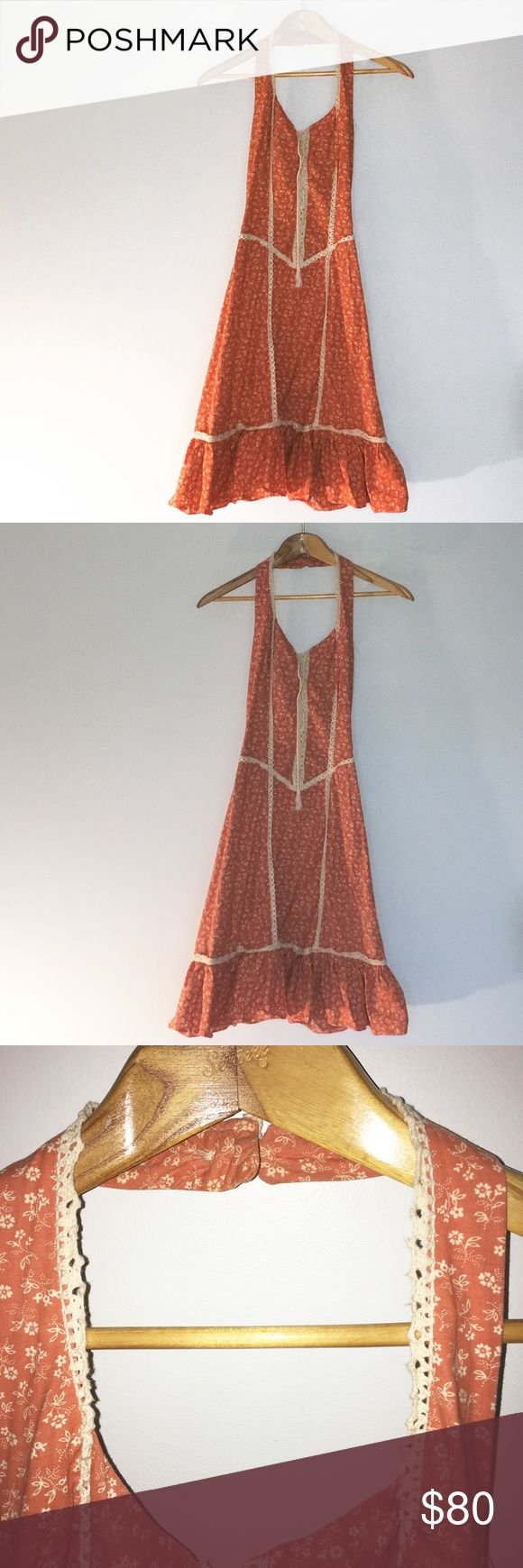 Vintage Rags by Kressandra San Francisco Dress 1970's Vintage Dress by Rags Krassandra San Francisco. This dress is so cute and in perfect condition. Perfect for festival season and all summer long! Although this dress reads size 9 vintage sizing run smells.                                                               Chest 30 inches                                                                                 Waist 26 inches…