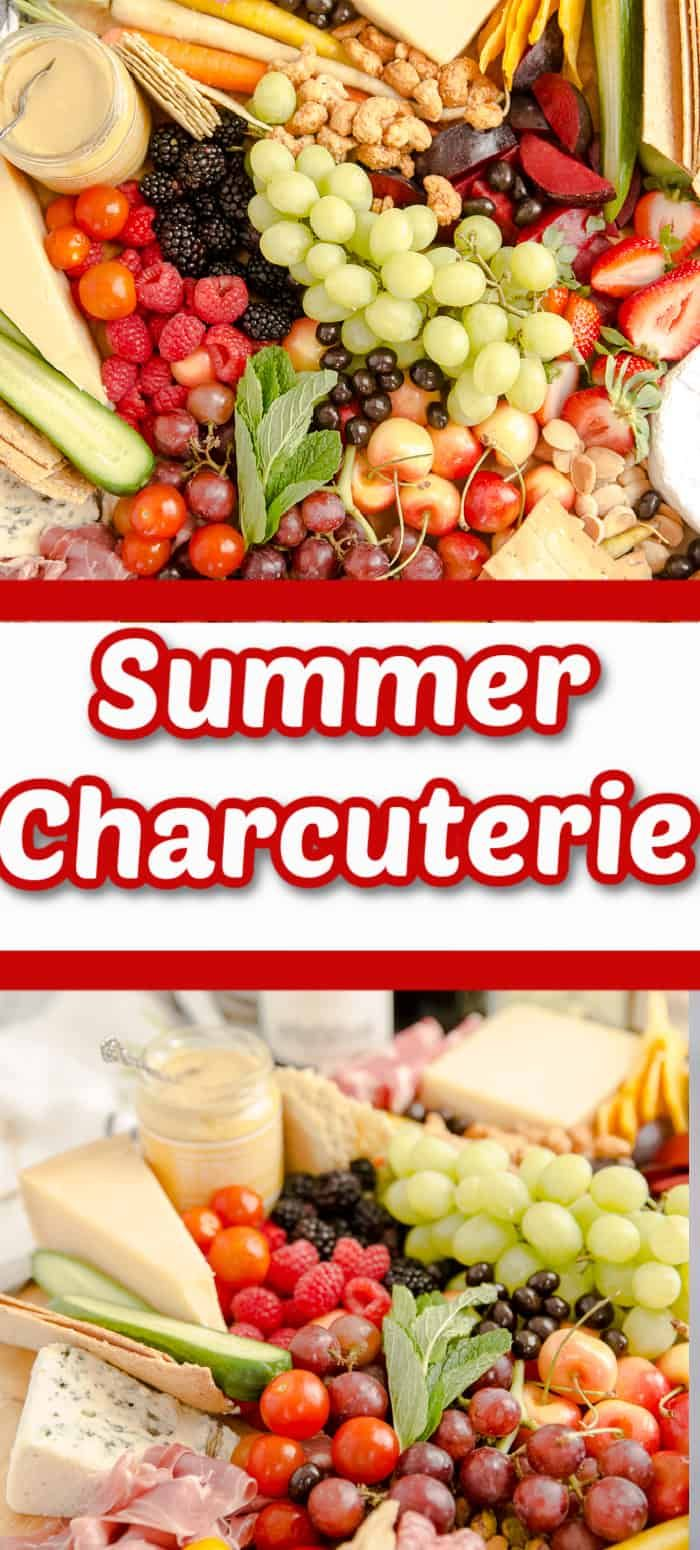 Summer Entertaining Wouldn T Be Complete Without Good Wine And A Bountiful Charcuterie Board Take The Summers B In 2020 Best Appetizers Charcuterie Appetizer Recipes