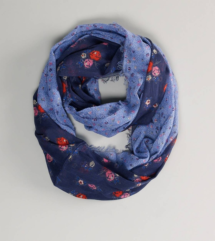 AEO Floral Loop ScarfAeo Floral, Fashion, Products Image, Style, Floral Loop, Scarves, Flyout Products, Loop Scarf