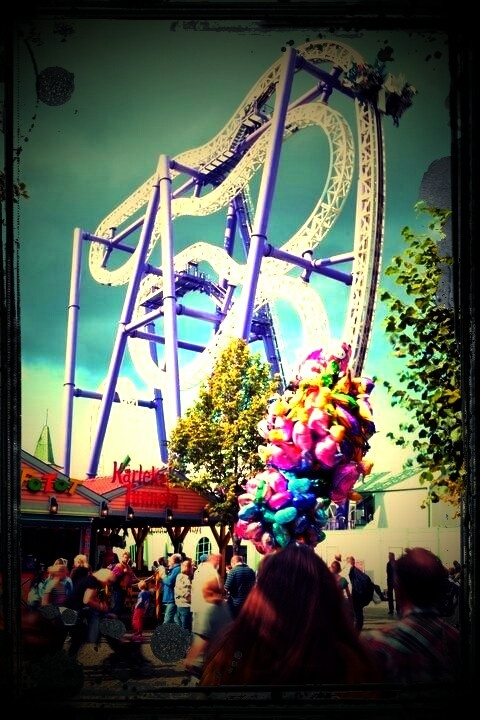 """The """"Inzane"""" roller coaster"""