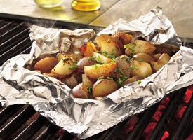Seasoned Sage Grilled Potato Packets  http://www.stockpilingmoms.com/2011/05/seasoned-sage-grilled-potato-packets/
