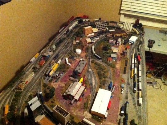 ho 3 train layouts 4x8 - Google Search | Train Garden | Ho ...