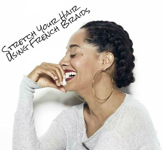 How To Stretch Natural Hair With Braids
