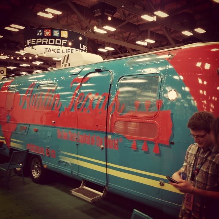 Austin, Texas Music Van
