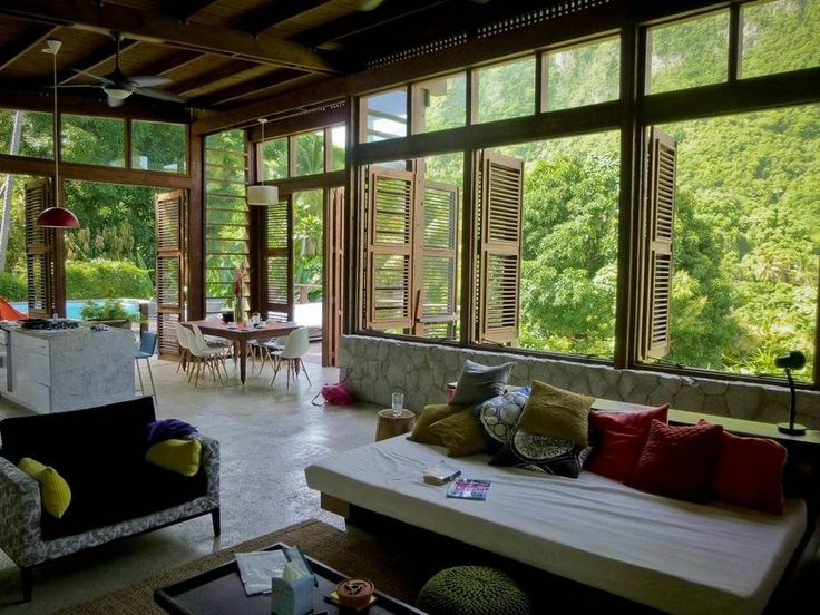 Resort In St. Lucia  Beautiful Living Space 6 Top 20 World Most Beautiful  Living Spaces