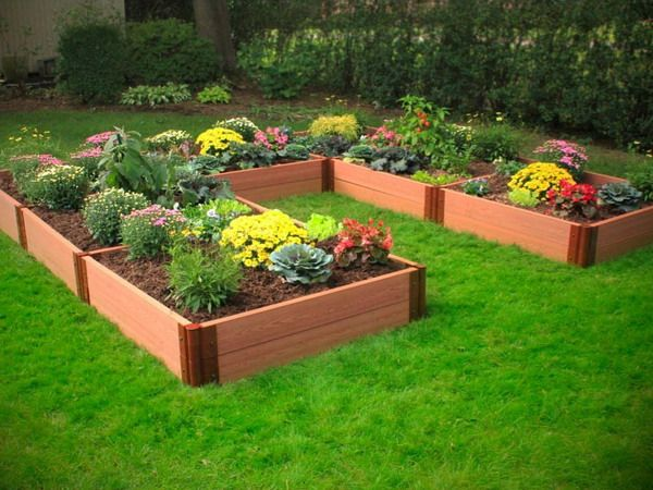 1000 images about diy garden ideas on pinterest gardens for Flower bed shapes designs