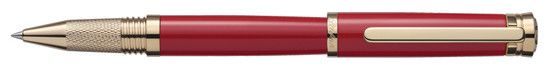 Laban Elegant Red Rollerball Pen