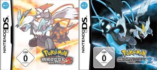 Cover von Pokémon Schwarz und Weiß 2 - heute erscheinen die beiden neuen Editionen!