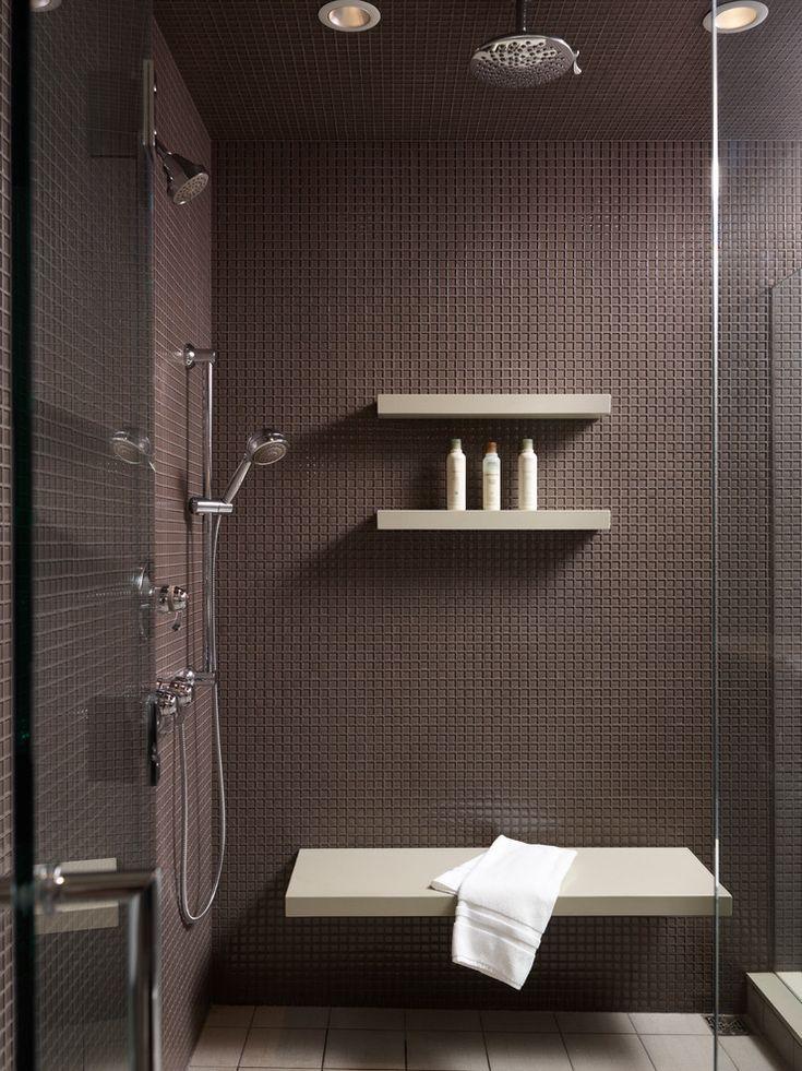 Shower shampoo holder bathroom contemporary home renovations with shower tiles glass shower door