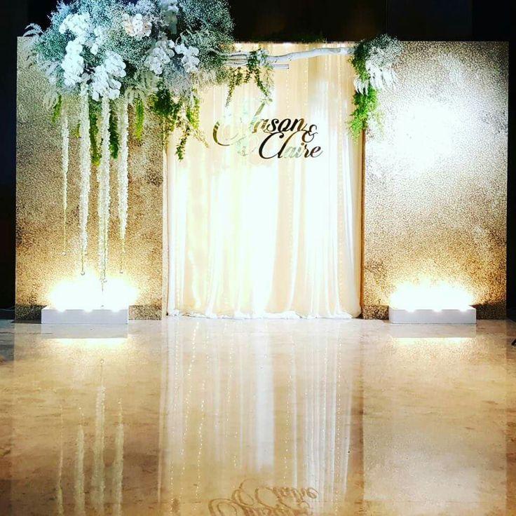 Wedding backdrop idea #ezeevents #wedding