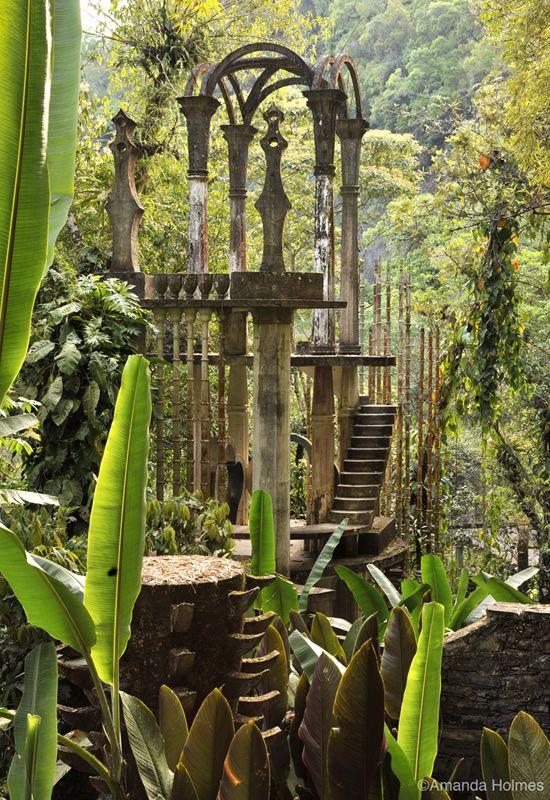 The Bamboo Palace at Las Pozas, Xilitla, Mexico