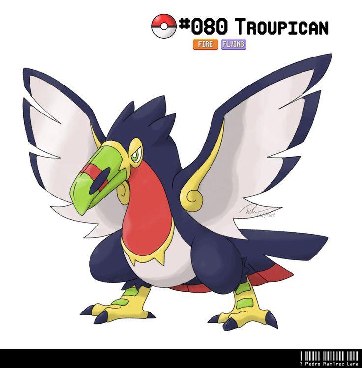 080 - Toucan Fakemon by LeafyHeart.deviantart.com on @DeviantArt