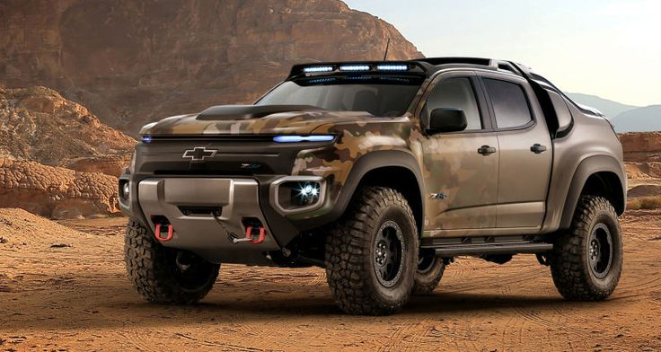The U.S. Army's Chevy Colorado ZH2 Looks Ready For World War IV