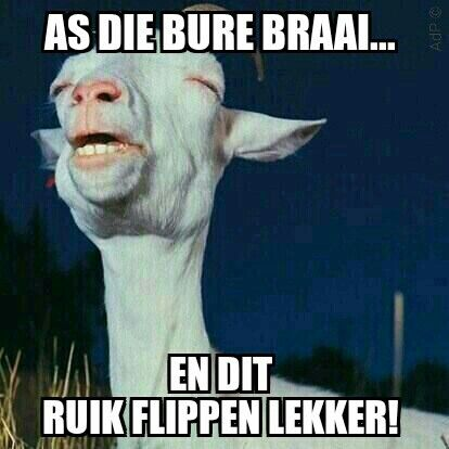Another one of my memes... #braai #afrikaans #snaaks