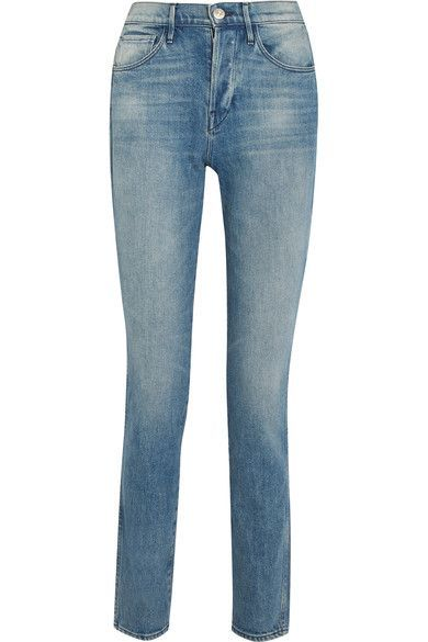 3x1 - W4 Shelter Slim High-rise Slim Straight Jeans - Blue