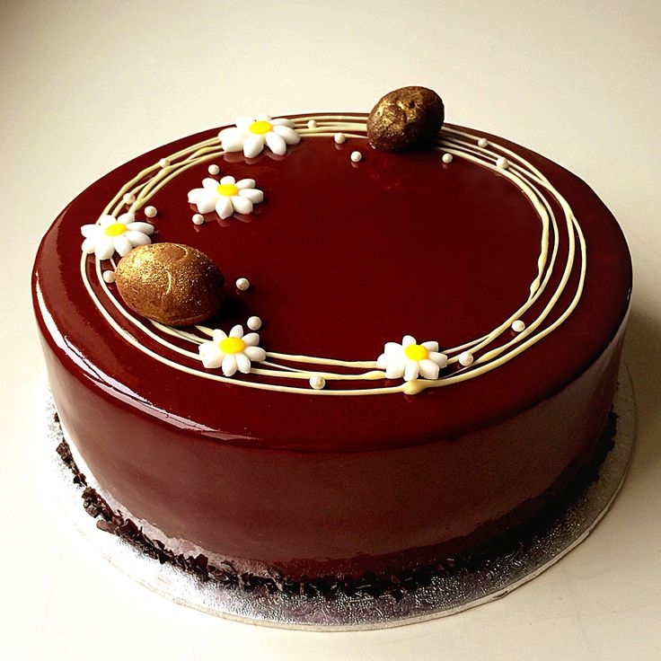 Chocolate sponge cake layered with chocolate mousse, raspberry jelly ...