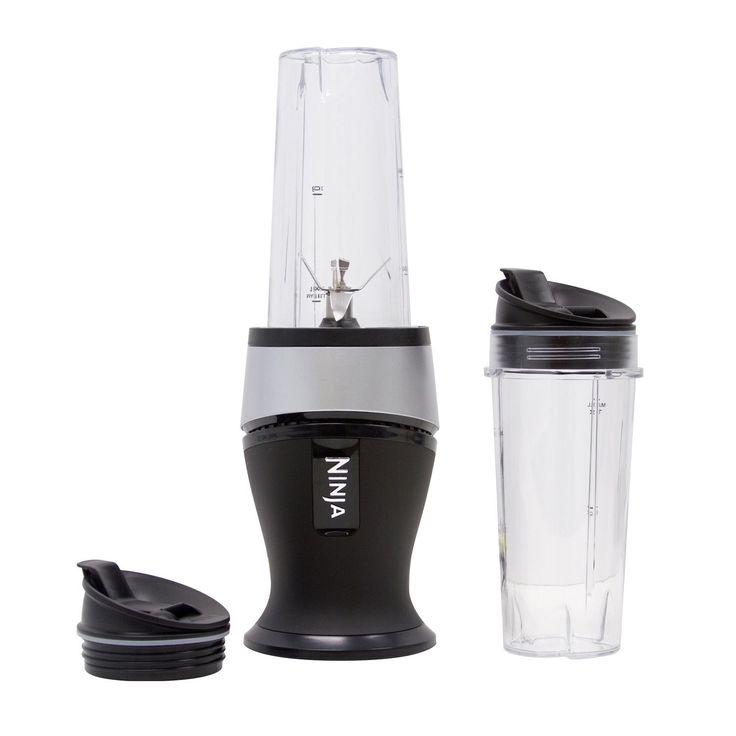 Ninja QB3000SS Fit Single Serve Blender, White