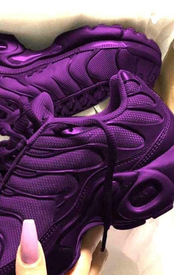 The Amazing Purple Air Max Plus TN Sneakers | Purple nike ...