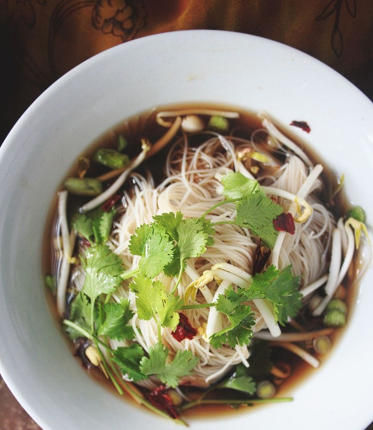 vegetarian pho Hubby made this the other day - oh my!