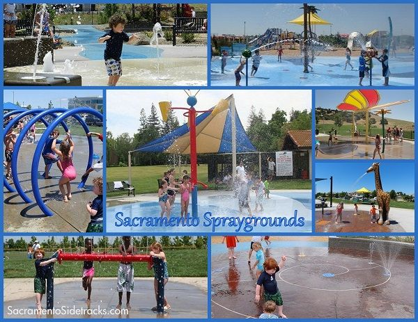 23 Spraygrounds to Cool off at this Summer! Guess what?! It's SPRAYGROUND time!!! Some parks have been turning their water on already and those that haven't will turn it on this weekend! I've updated my sprayground list and now have 23 Spraygrounds/Splash Pads for you! Woohoo!  http://sacramentosidetracks.com/2013/05/23-spraygrounds-to-cool-off-at-this-summer/