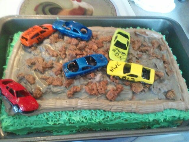 Demolition Derby Car Birthday Cakefor A Child Or 27 Year Old Man