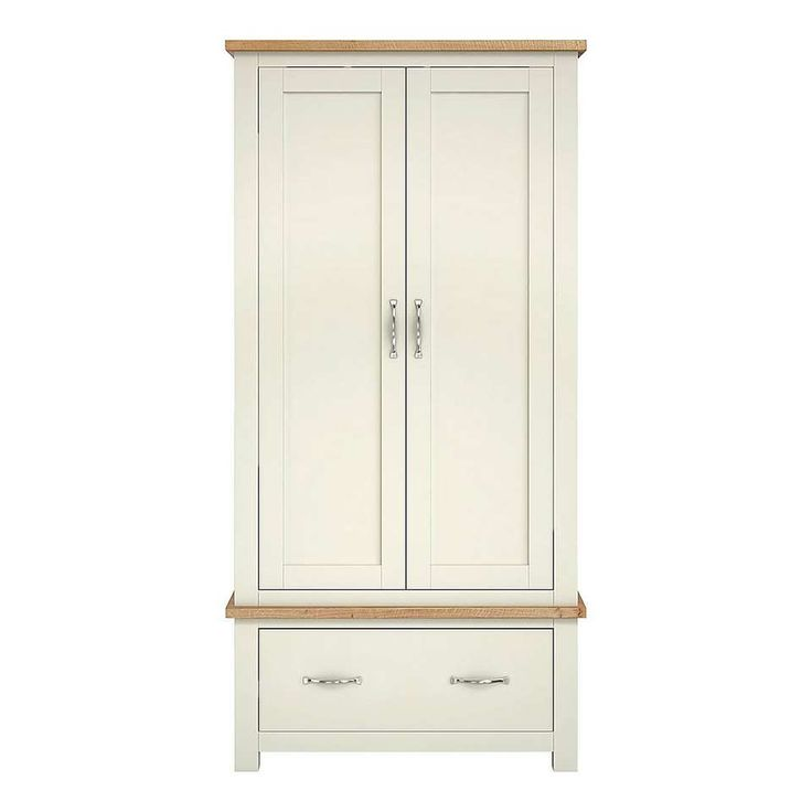 Sidmouth Cream Gents Wardrobe | Dunelm