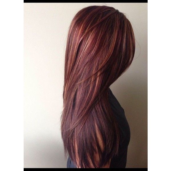 Brown Pink Ombre Hair Dye Rose Tint Brown Brick Red