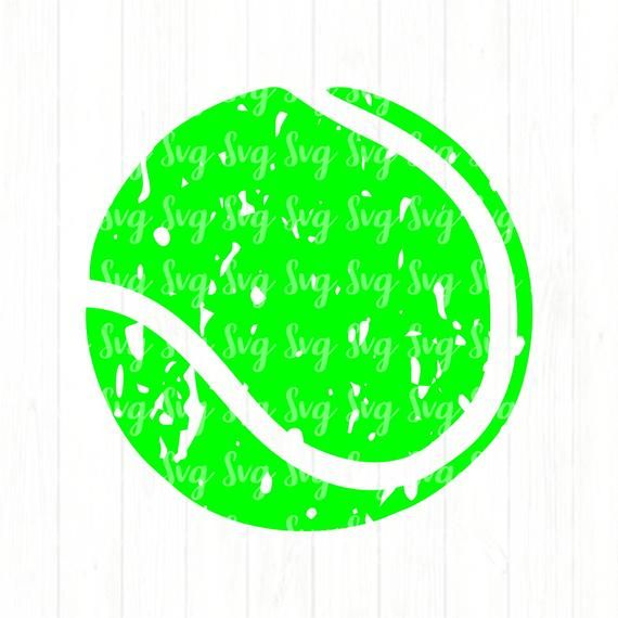 Distressed Tennis Ball Svgtennis Ball Svgtennis Etsy Tennis Shirts How To Make Tshirts Tennis Ball