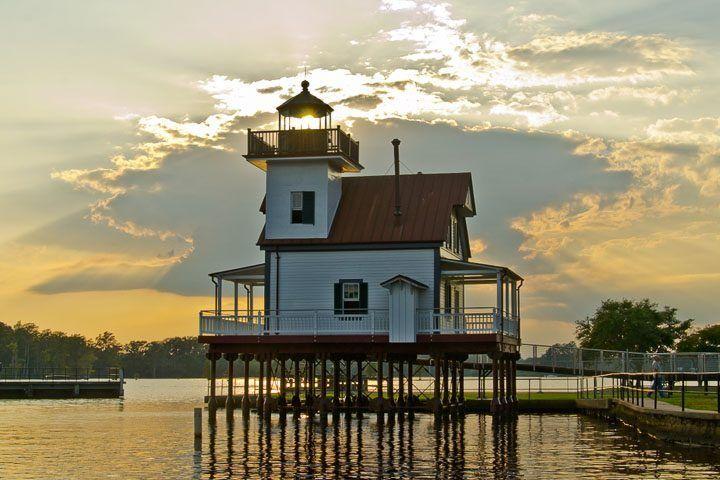 Roanoke River Lighthouse, Edenton, North Carolina (Photo by Kip Shaw)