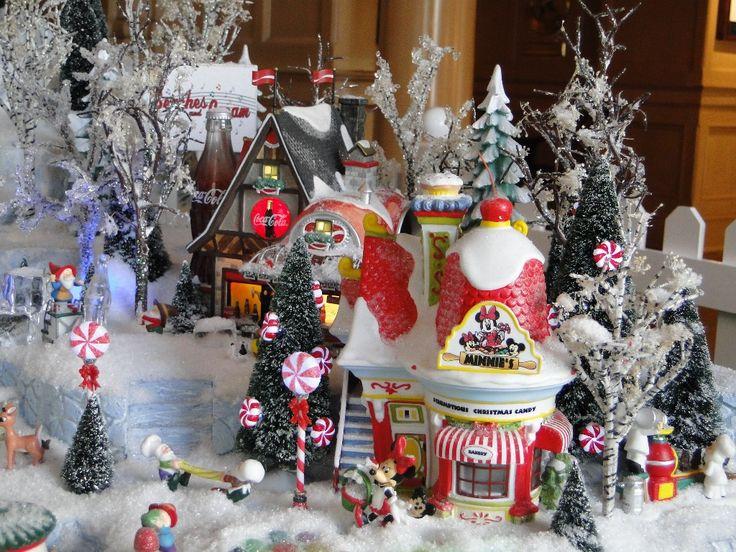 Disney Christmas Village Disney Christmas Village