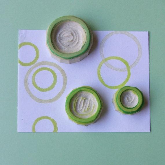 Dizzy Up Circle Pattern