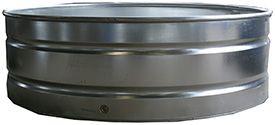 Round Galvanized Water Tanks