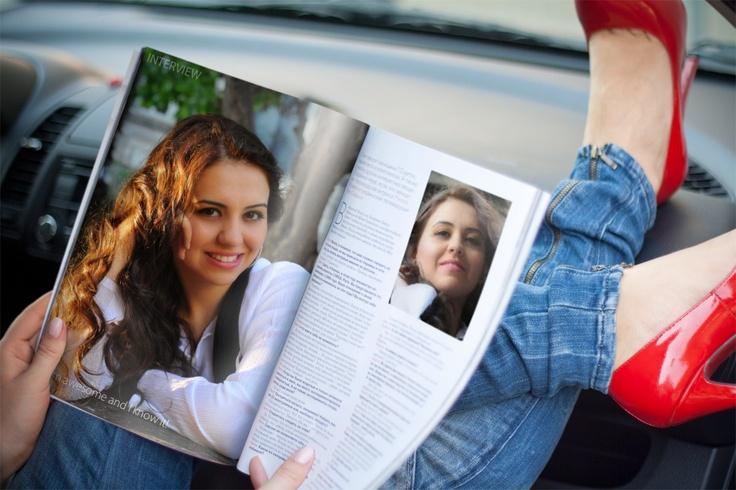 Yasaman Daghighi - magazine