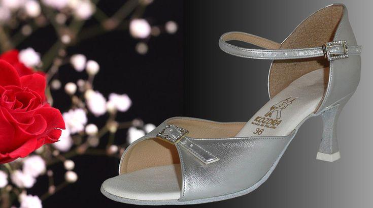 Taneční boty KOZDRA - Dámské svatební boty kat.č. 220 - velikost 36.5