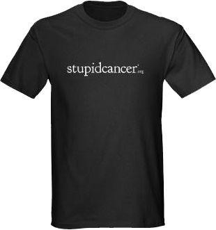 Stupid Cancer - Stupid Cancer Classic Shirt, $7.00 (http://www.stupidcancerstore.org/stupid-cancer-classic-shirt/)
