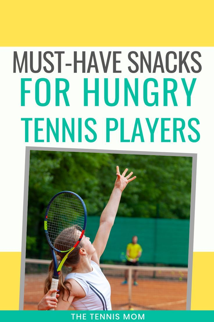 Snack Ideas For Tennis Players In 2020 Tennis Tennis Players Tennis Workout