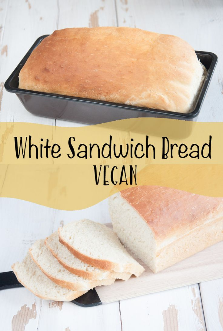 Vegan White Sandwich Bread | Elephantastic Vegan