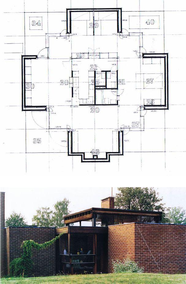 HIC Arquitectura - Sverre Fehn – Villa a Norrköping, Suecia