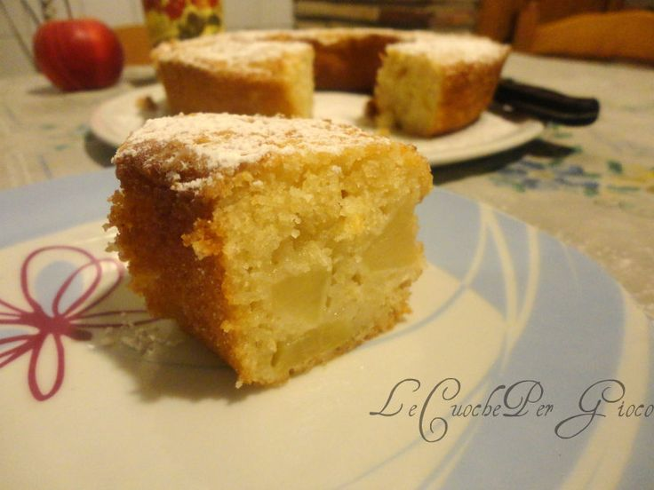torta ciambella mele